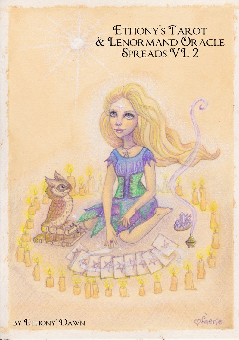 Ethony's Tarot and Lenormand Oracle Spreads eBook  VL2 image 0