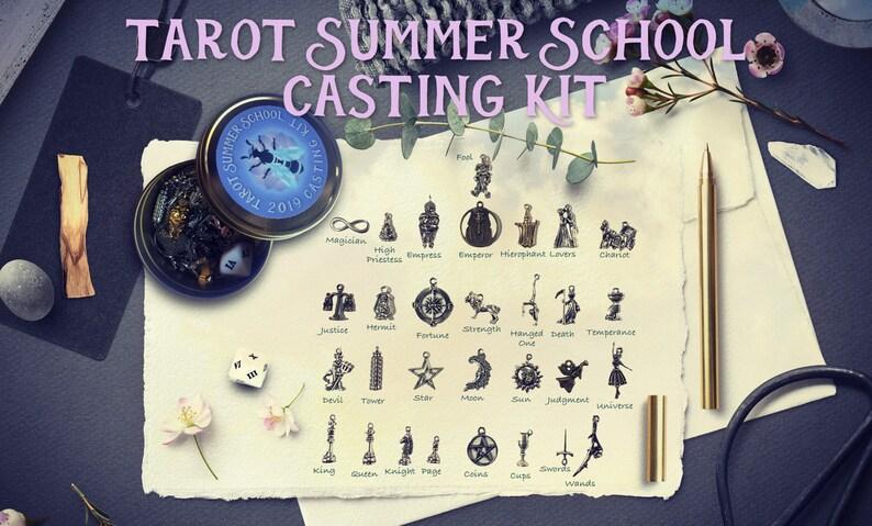 Tarot Summer School Charm Casting Kit - Limited Edition