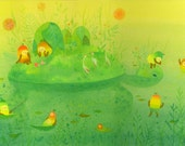 Turtle Island Limited Edition Print