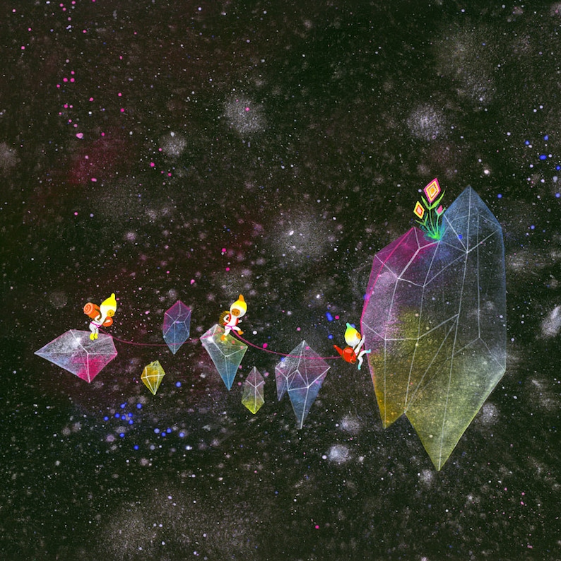 Crystal Climbers Limited Edition Print image 0