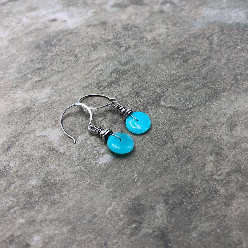 Sea Organica Russian Amazonite and Sterling Silver Earrings