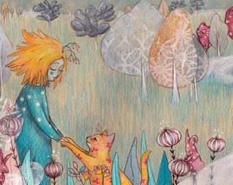 A Wander of Wonder Illustration
