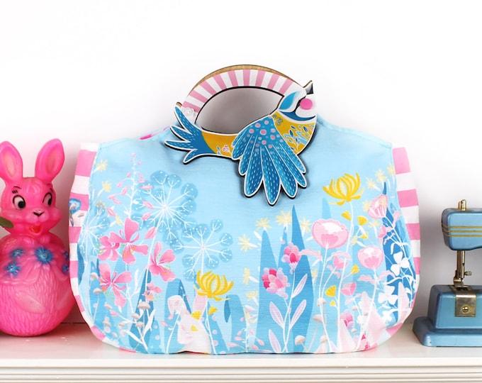 Featured listing image: DIY Kit - Blue Tit Bag