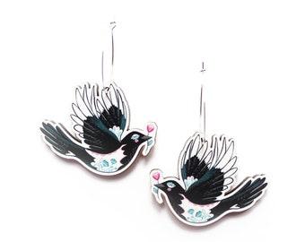Magpie Hoop Earrings