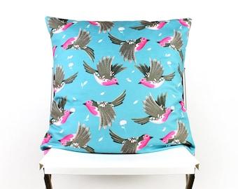 Robin cushion cover