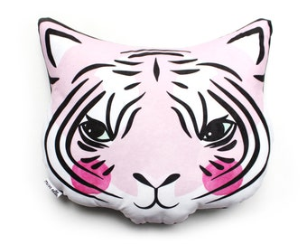 Tiger Cushion - Various colours