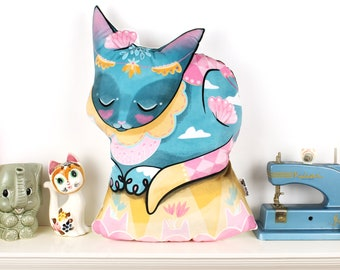 Circus Cat Cushion