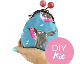 DIY KIT - Robin bobble purse