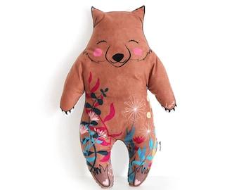 Wombat Cushion