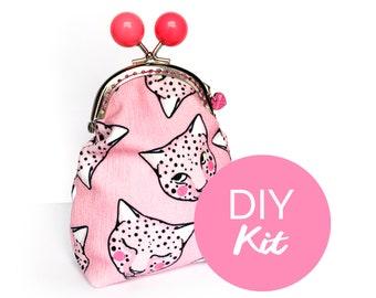 DIY KIT - Pink Leopard