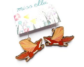 Flying Fox Earrings