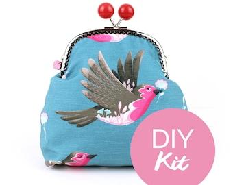 DIY KIT - Robin JUMBO Bobble Purse