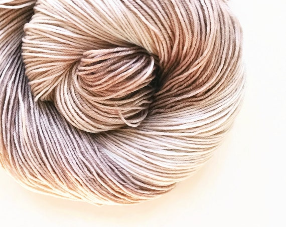 BONE hand dyed yarn