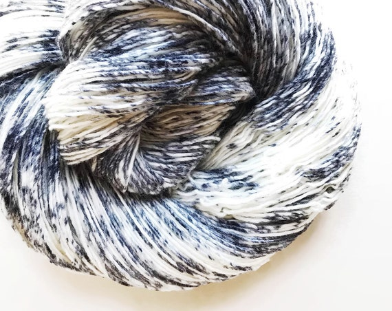 NEWSPRINT hand dyed yarn speckle