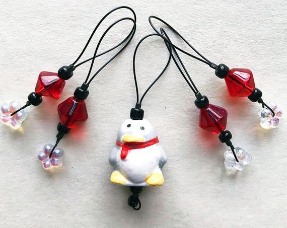 PENGUIN stitch markers