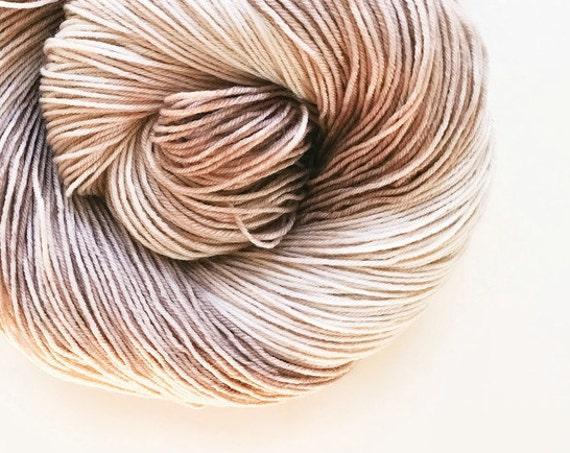 BONE hand dyed yarn