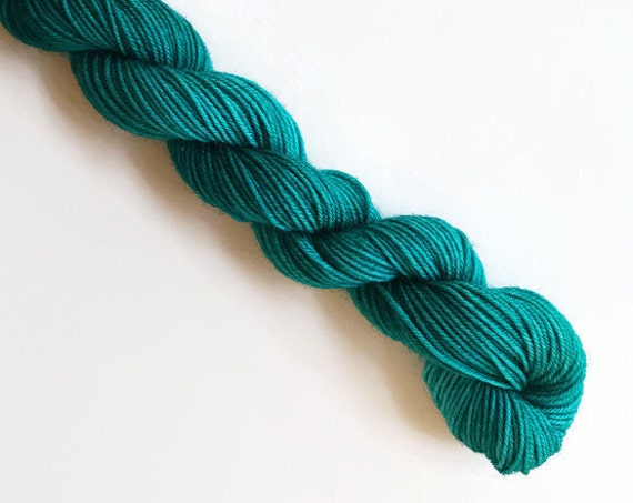 MALLARD hand dyed yarn mini skein