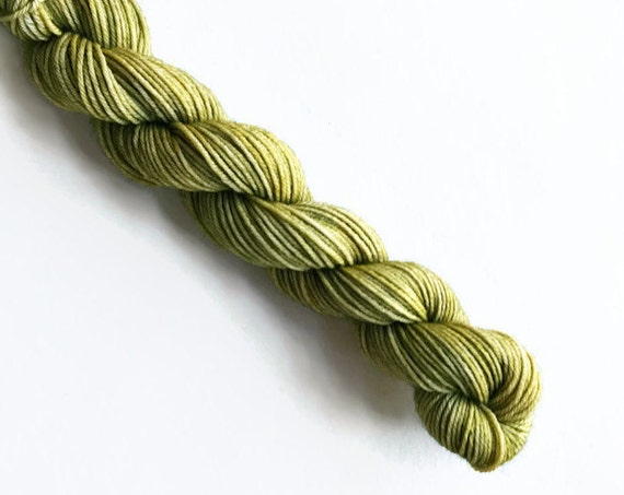 WILLOW hand dyed yarn mini skein