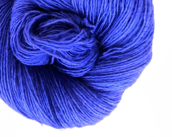 VIOLET hand dyed yarn