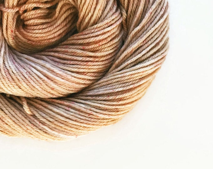 Featured listing image: CAPPUCCINO hand dyed yarn