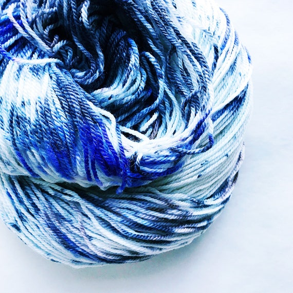 MYST hand dyed fingering yarn