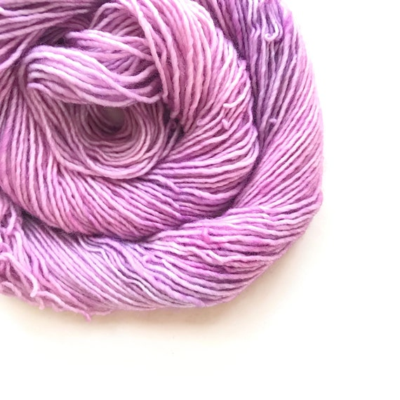 ROSY hand dyed yarn