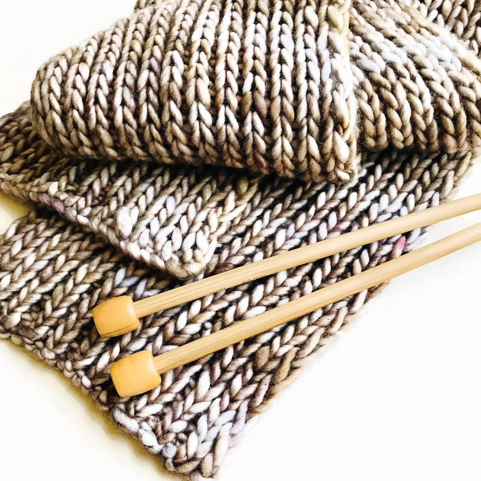 Scarf 2 Knitting Pattern Simple 1x1 Rib Stitch Scarf Pdf Download