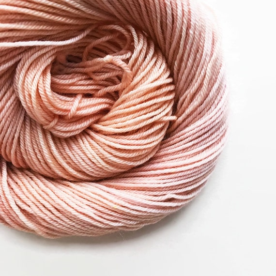 LOBSTER BISQUE hand dyed yarn