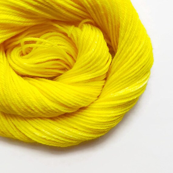 SUN hand dyed yarn