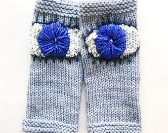 EVIL EYE Gloves Yarn Kit - hand dyed yarn superwash merino wool. worsted weight yarn. March for Our Lives School Safety - Knitting Yarn Kit