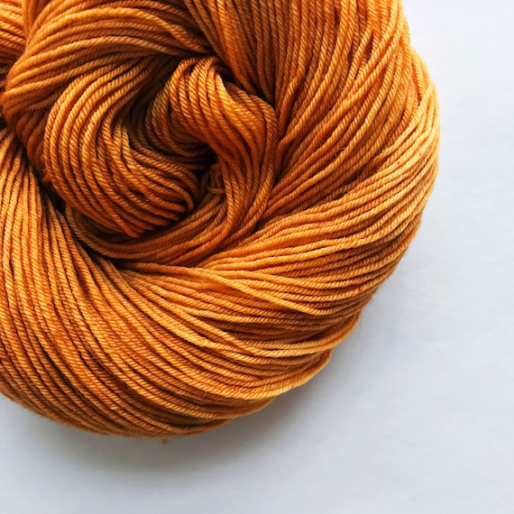 HONEYGOLD hand dyed yarn