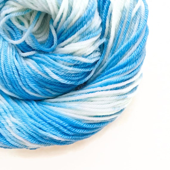 SKY CREAM hand dyed yarn
