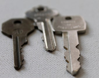 3 Old Keys - Assemblage, Jewelry or Scrapbooking Supplies, Key style 2
