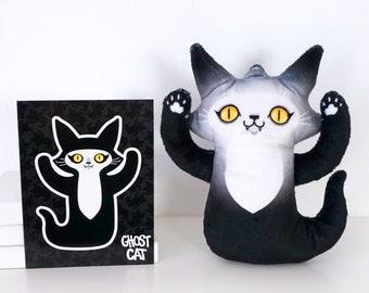 Ghost Cat - Yellow Eyes Sweetie