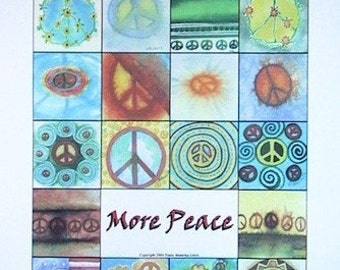 More Peace Poster