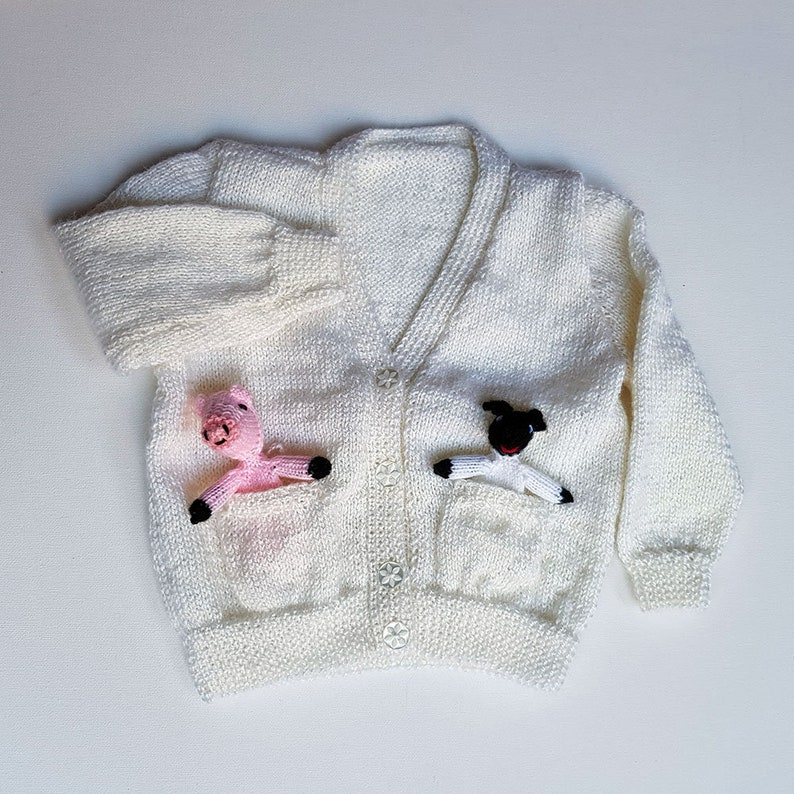 Pocket pals kids cardigan image 0