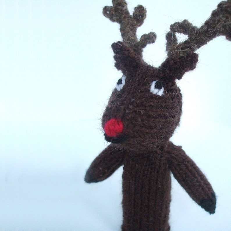 Rudolph Finger Puppet image 0