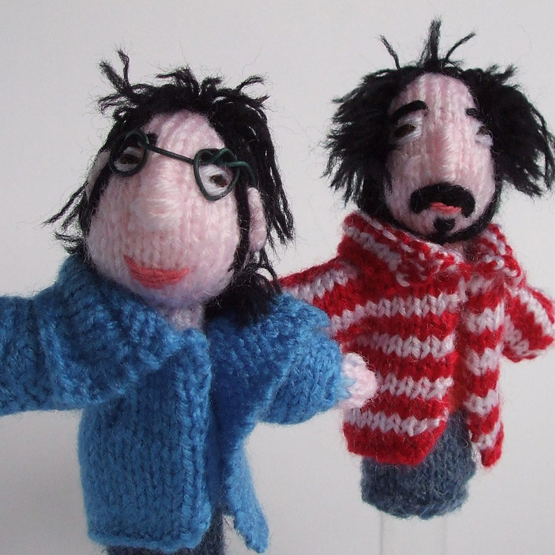 Flight of the Conchords Finger puppets image 0