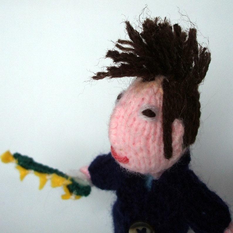 Morrissey Style Finger puppet image 0