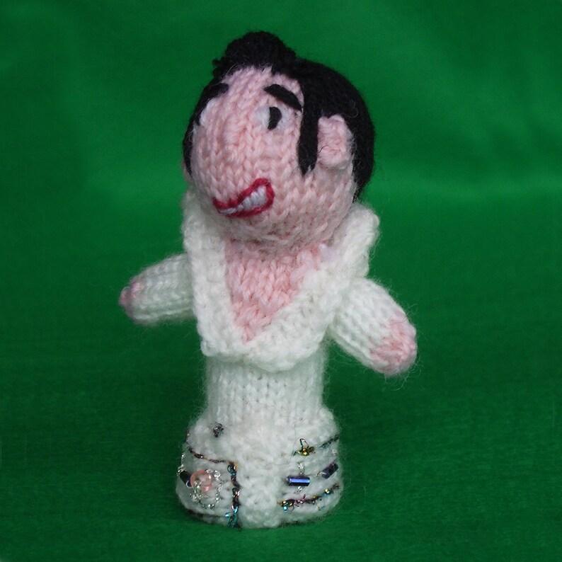 Elvis Style Finger Puppet image 0