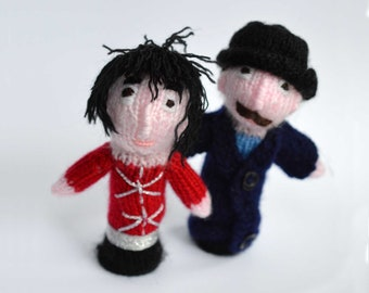 Mighty Boosh - Vince & Howard Finger puppets