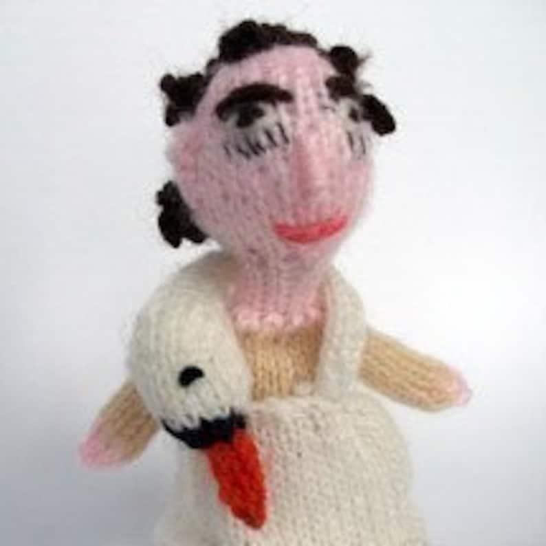 Bjork style Finger Puppet image 0