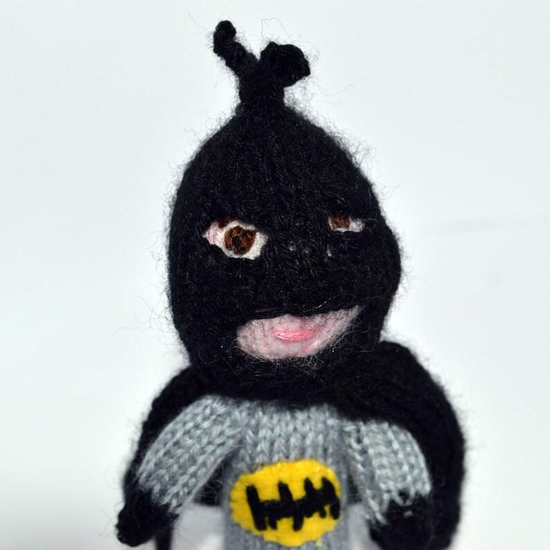 Batman style finger puppet image 0