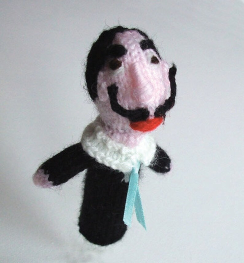 Salvador Dali Style Finger puppet  LAST ONE image 0
