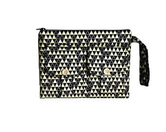 Wristlet Purse for Women, Wallet Wristlet, iPhone X Wristlet, Metallic Gold Wallet