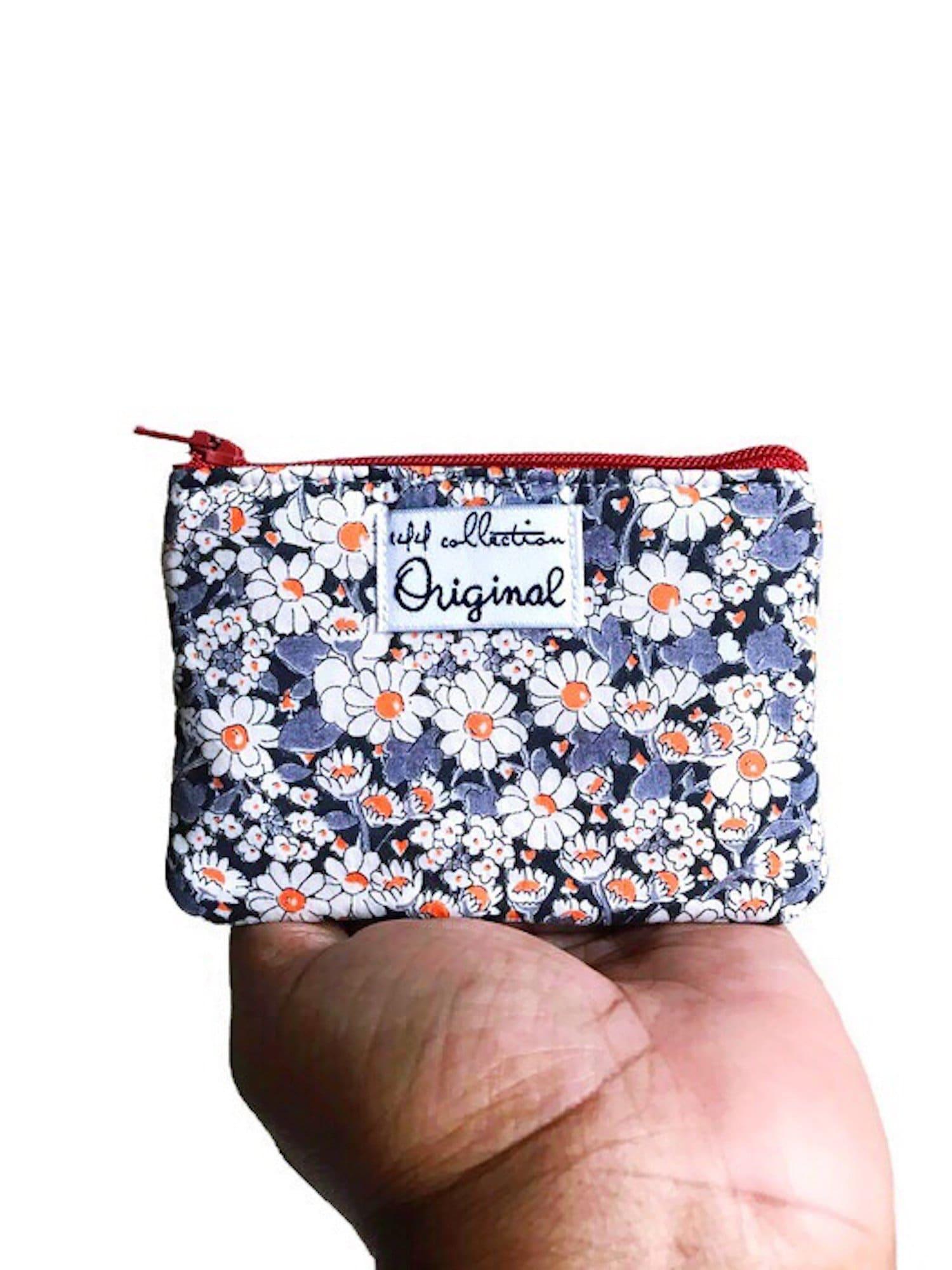 Women Floral Polka Dot Credit Card Holder Cute Coin Purse Lightweight Wallet UK