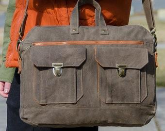 Ravenwood Messenger Bag PDF Sewing Pattern