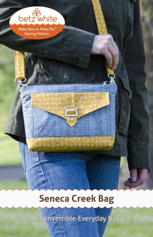 Seneca Creek Bag PDF Pattern image 0