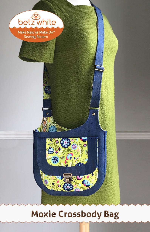 Moxie Crossbody Bag  PDF Sewing Pattern image 0