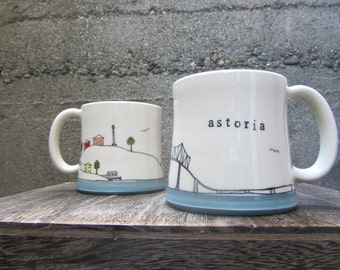 MADE TO ORDER ~ Astoria Mug